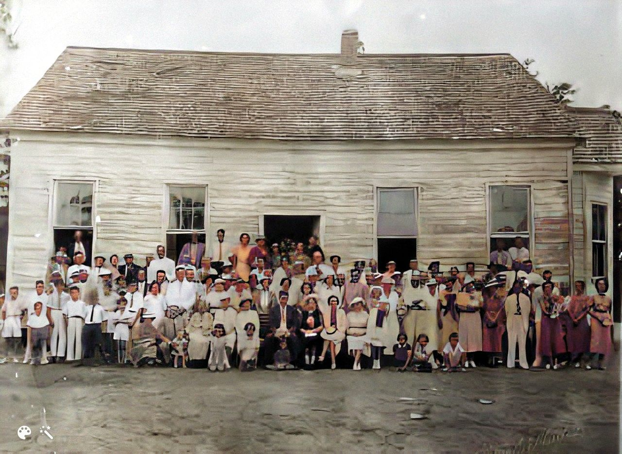 Dowling Family Reunion in 1935