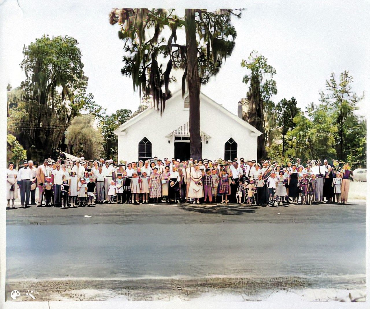 Dowling Family Reunion in 1953